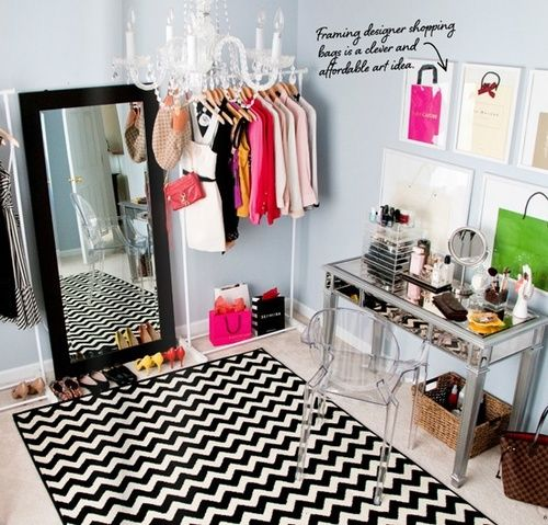 If You Could Have A Closet Room How Would You Design It?